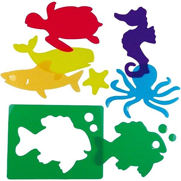 Henbea- Plantillas de Aprendizaje de Animales del mar ...
