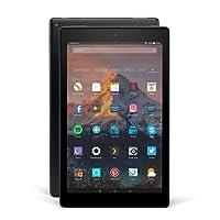 Fire HD 10-Tablet mit Alexa Hands-free, 25,65 cm (10,1 Zoll) 1080p Full HD-Display, 64 GB, schwarz, mit Spezialangeboten