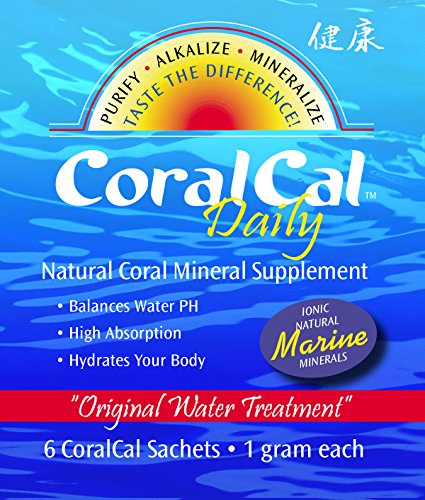 CoralCal Daily Calcium Sachets Kosher Certified (30 Foil Packs Per Set 180 Sachets Total) by Daily Health CoralCal Daily Sachets