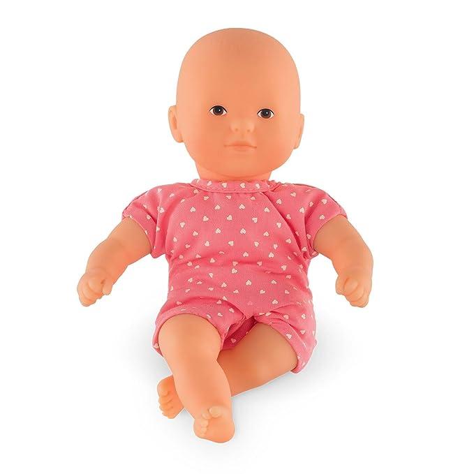 Corolle DLG03 Mini Calin Babypuppe, pink, rosa, 20 cm
