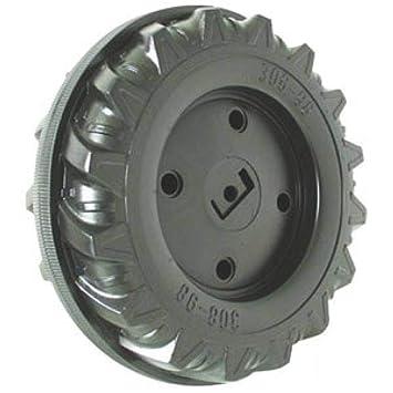 rolly toys Rueda 308x98 eje 12 para tractores a pedales - 59900300080: Amazon.es: Juguetes y juegos