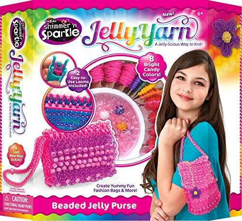 Jelly Yarn Bubble Blast Purse