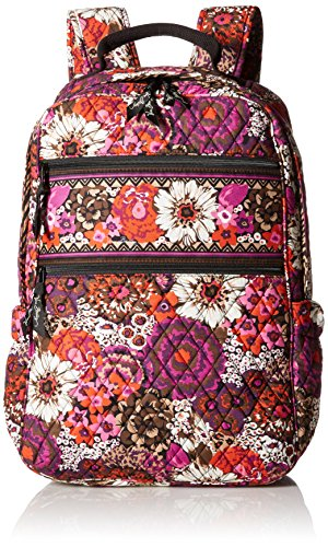 Vera Bradley Tech Backpack, Rosewood, One Size