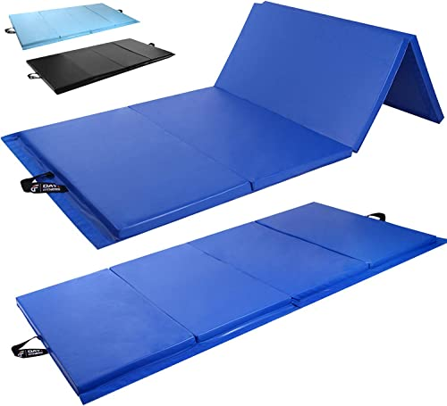 Day 1 Fitness Folding Gymnastics Gym Mat High-Density Foam, Exercise, Yoga, Gymnastics, Crossfit, Aerobics, Tumbling Mats