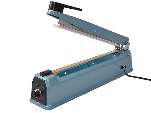 2in1 Portable Heat Sealing Machine Impulse Sealer Packing Plastic Bag Tool Brown