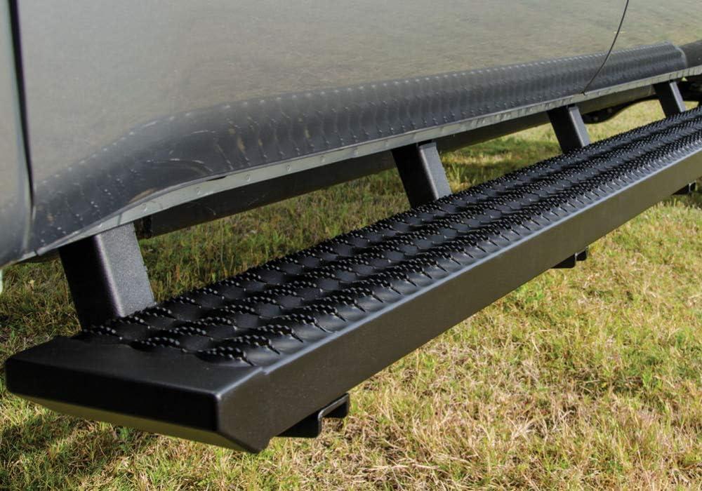 all bed sizes fits 2019 Ram 2500//3500 Crew Cab Cab Length N-FAB Growler Fleet Step System GFD20CC-TX Textured Black