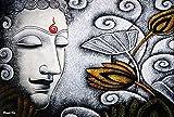 Avercart Lord Buddha / Gautam Buddha Poster 18x12 inch Unframed (45x30 cm rolled)