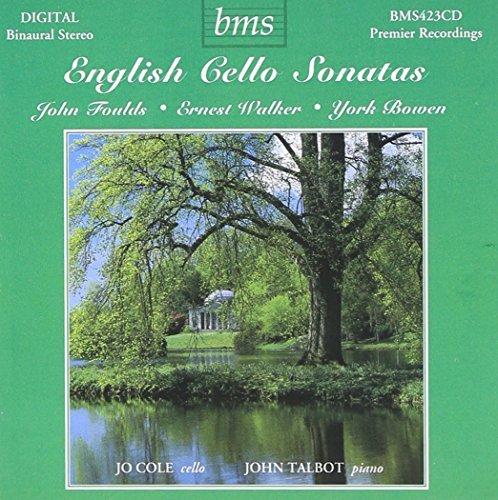 (English Cello Sonatas by Jo Cole)