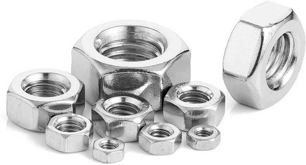 Stainless Hex Nut Pack of 50 M5