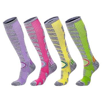 XUHAHAWZ Calcetines/Towel Bottom/Socks/Autumn/Winter/Long/Ski/