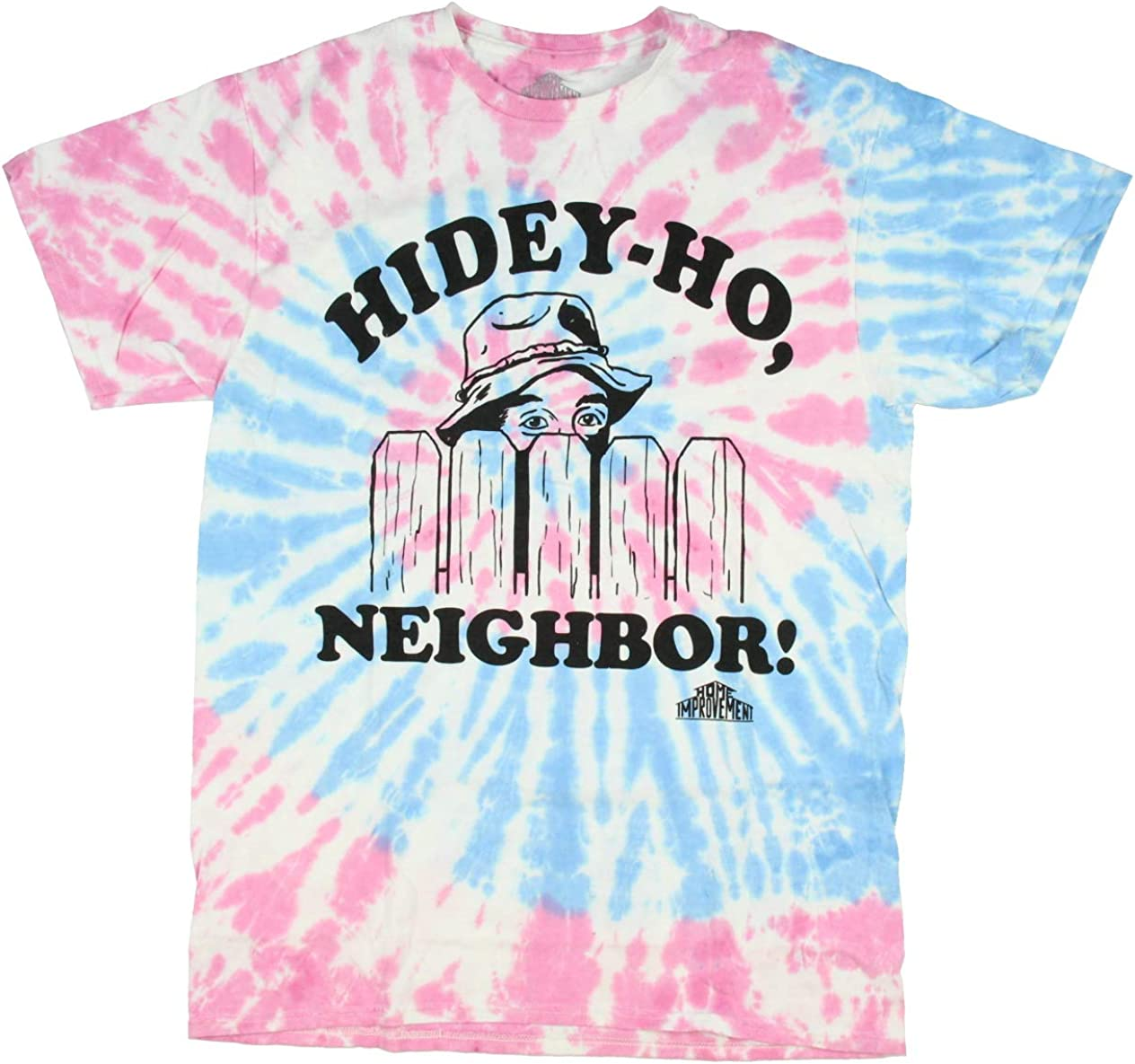 Home Improvement Men's Hidey-Ho Neighbor Television Series Tie-Dye T-Shirt
