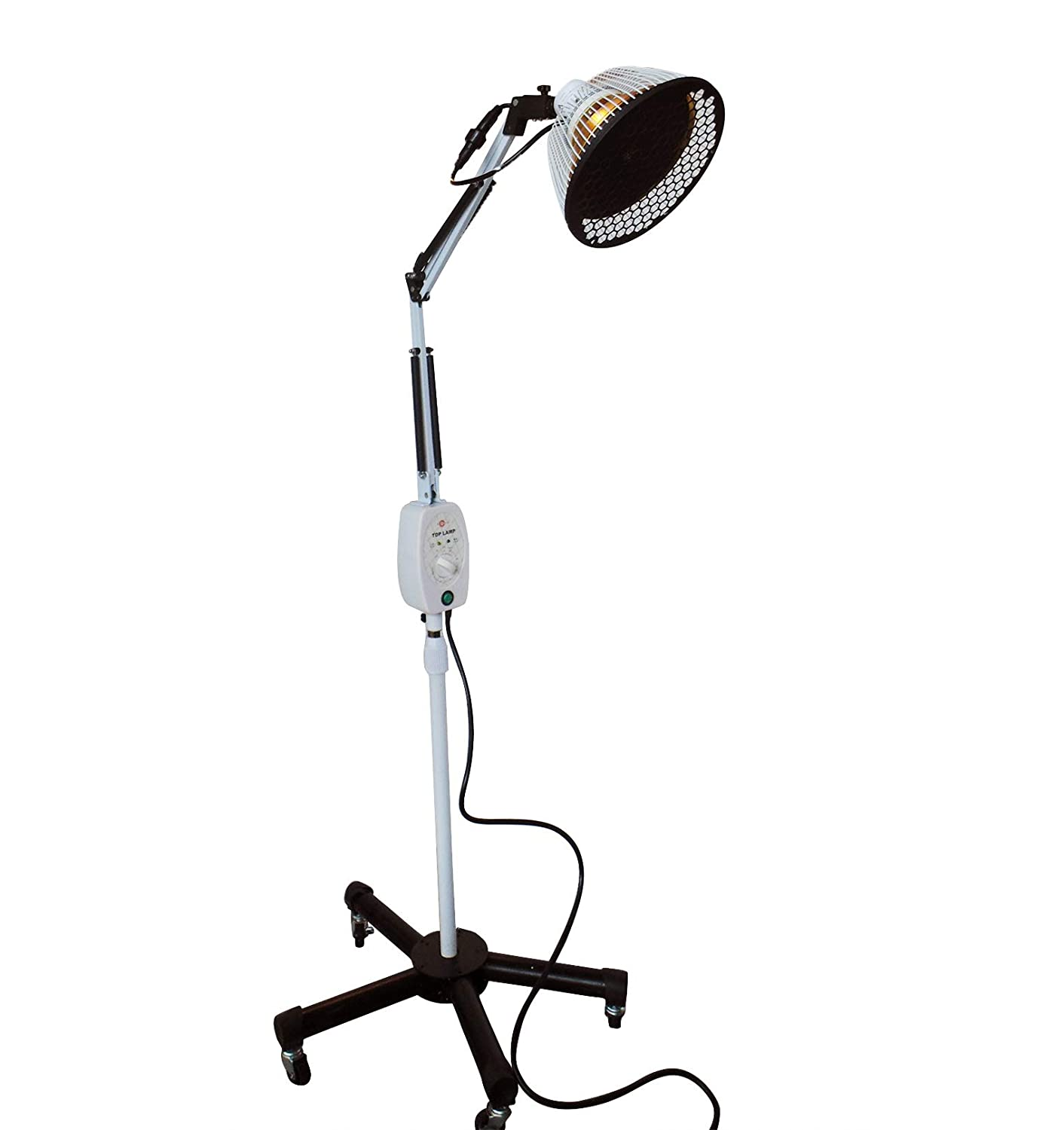 Improved TDP Lamp CQ222 – Genuine 6.5 inch Mineral Plate by VITA Activate 3rd Generation Mineral Lamp is Best Detachable Head Protection Cap