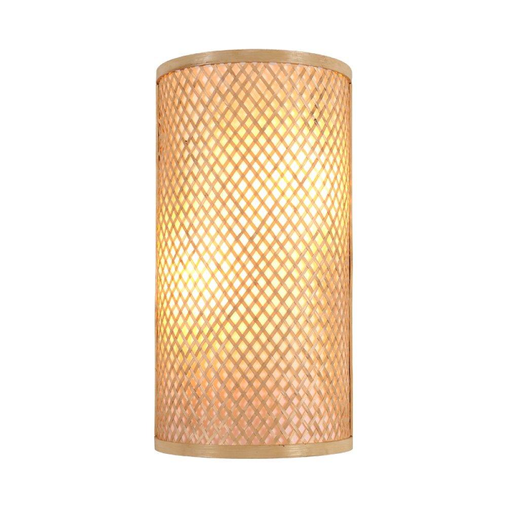 Appliques Chinois Bambou Applique Murale Chambre Lampe De