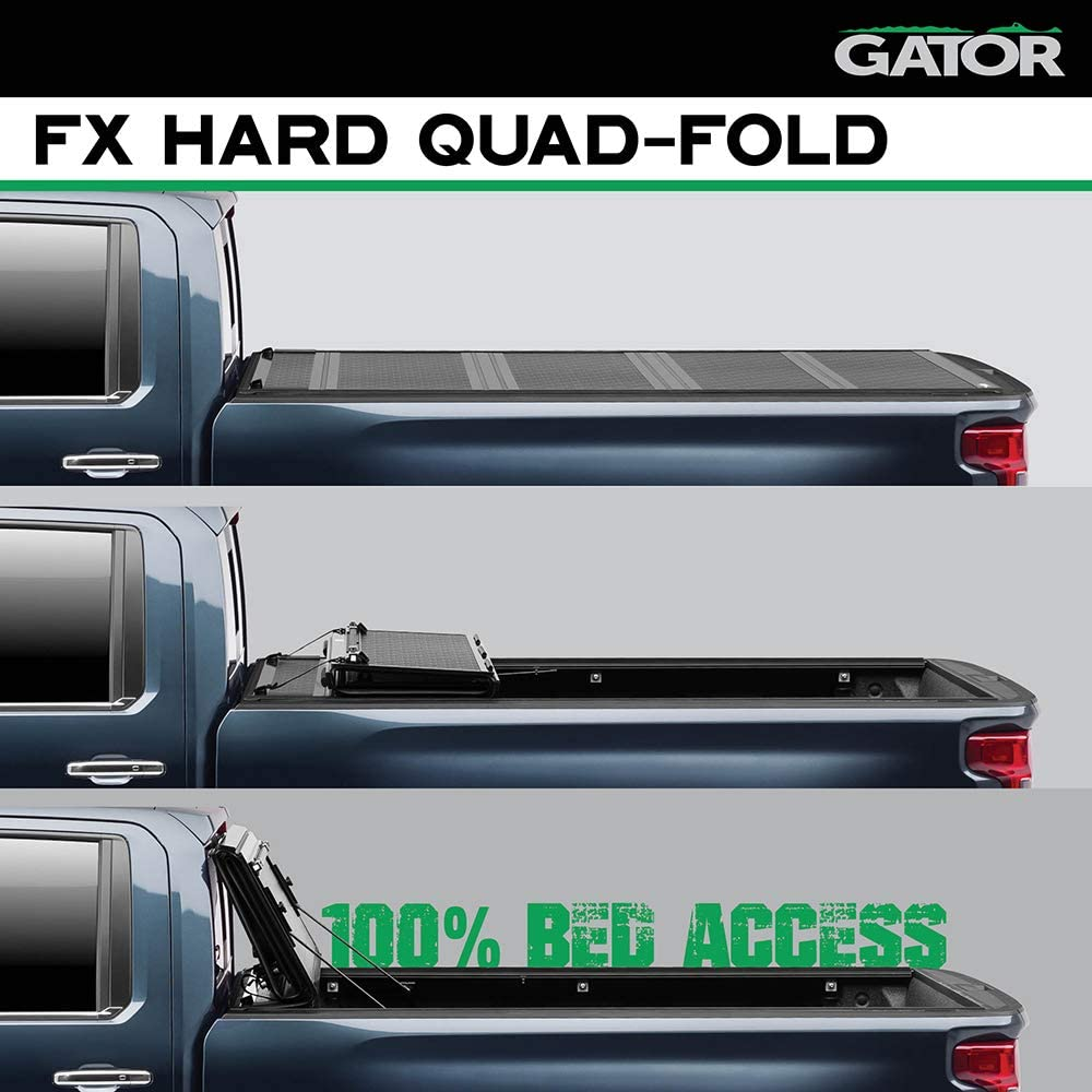 Tonneau Covers Automotive Gator Etx Soft Tri Fold Truck Bed Tonneau Cover 59314 2015 2019 Ford F150 8 Bed Made In The Usa