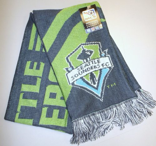 adidas MLS Seattle Sounders FC Reversible Scarf - S172Z