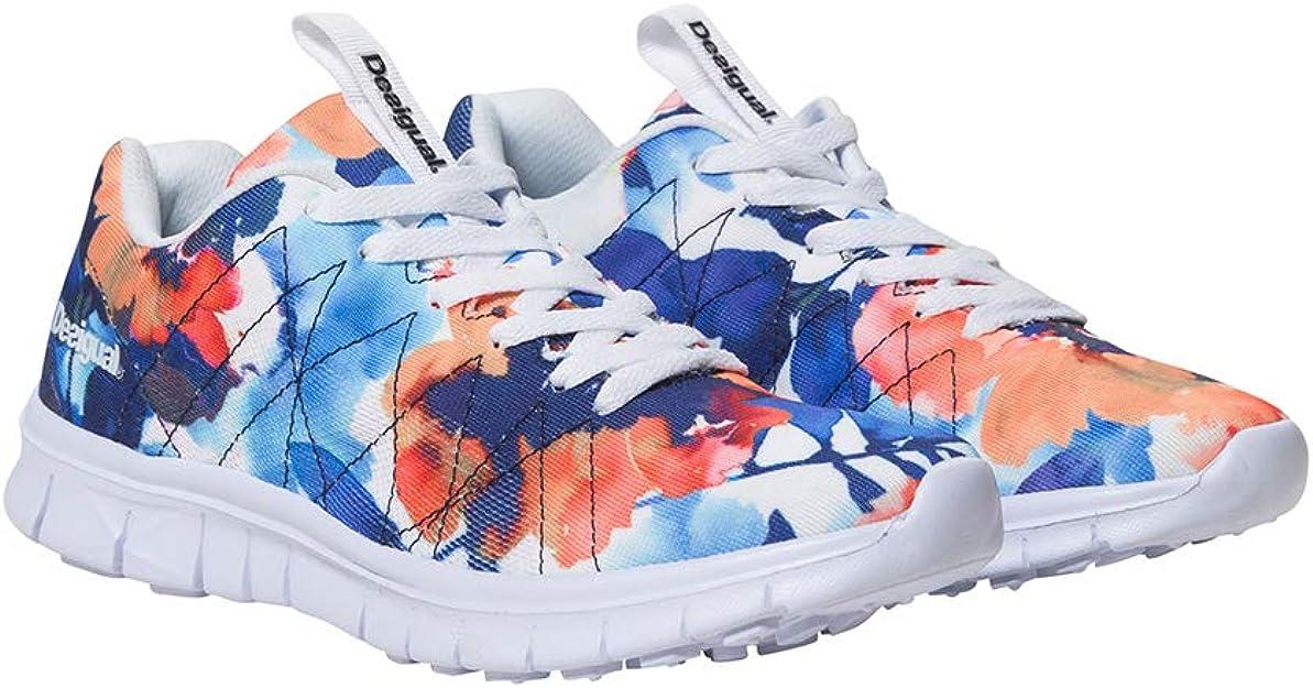Desigual Shoes (Running Camo Flower), Zapatillas para Mujer ...