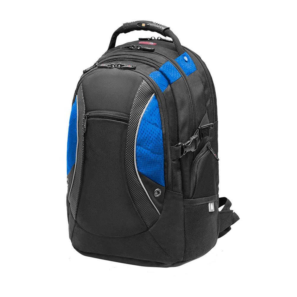 クライミングバックパック、大容量耐久リュックサックカジュアルトラベルノートパソコンバッグ防水キャンプナップサック,Blue,36*27*47cm B07MF7M4D7 Blue 36*27*47cm