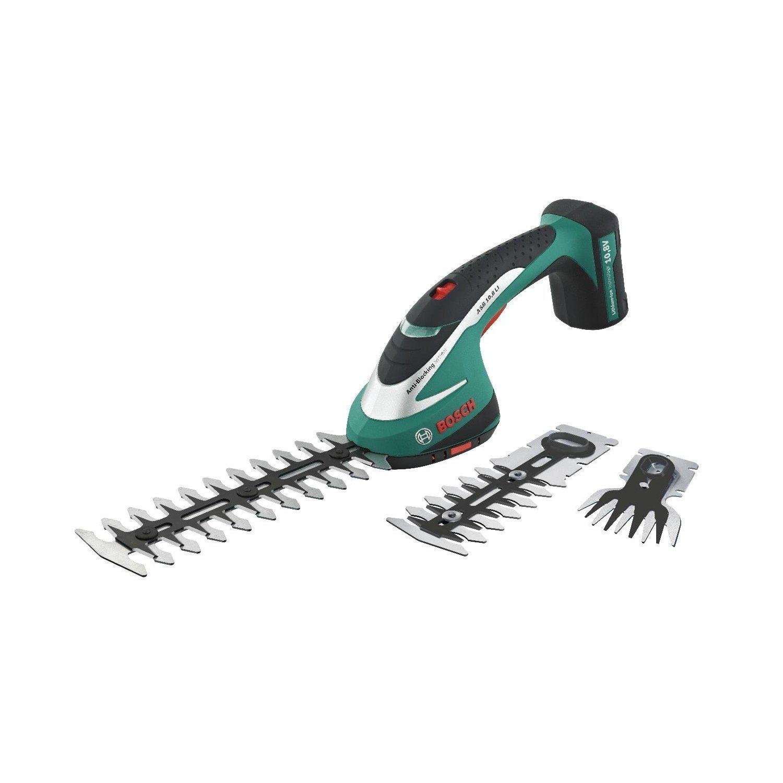 BOSCH ASB10.8LI 10.8V Cordless Hedge and Edge Shear Kit (3 Blades) ASB10.8LI Set BOSCH