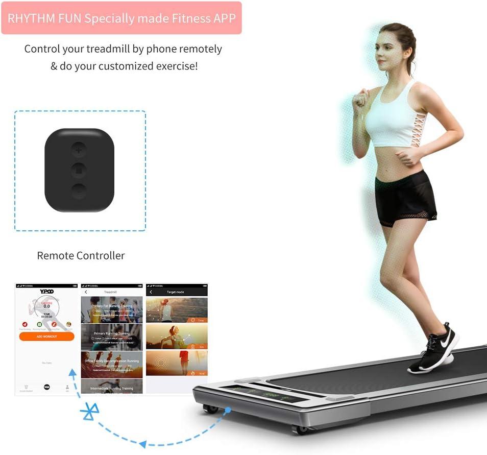 Treadmills Cardio Training RHYTHM FUN Treadmill Under Desk ...