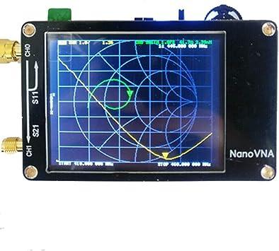 Ballylelly Analizador de Antena Nanovna portátil Analizador de ...