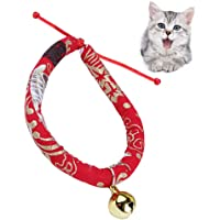 Japanese Style Cat Collar Handmade Adjustable Pet Neck Collar Perfect for Puppy and Cat