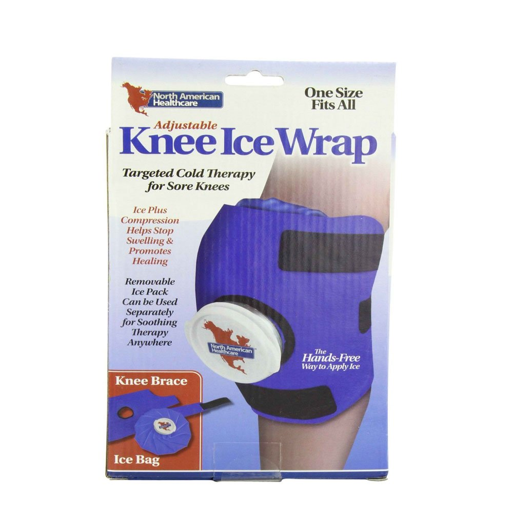 Knee Wrap ICE Bag Pack Cold Therapy Sore Compression Swelling Swollen Must Haves by Unknown (Image #2)