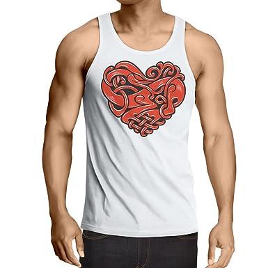lepni.me Camisetas de Tirantes para Hombre Diseño del Tatuaje del ...