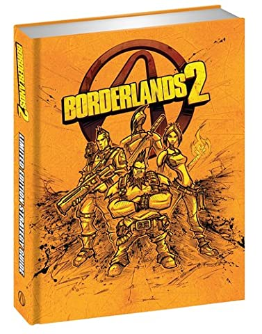 Borderlands 2 Limited Edition Strategy Guide (San Diego Mission Model)