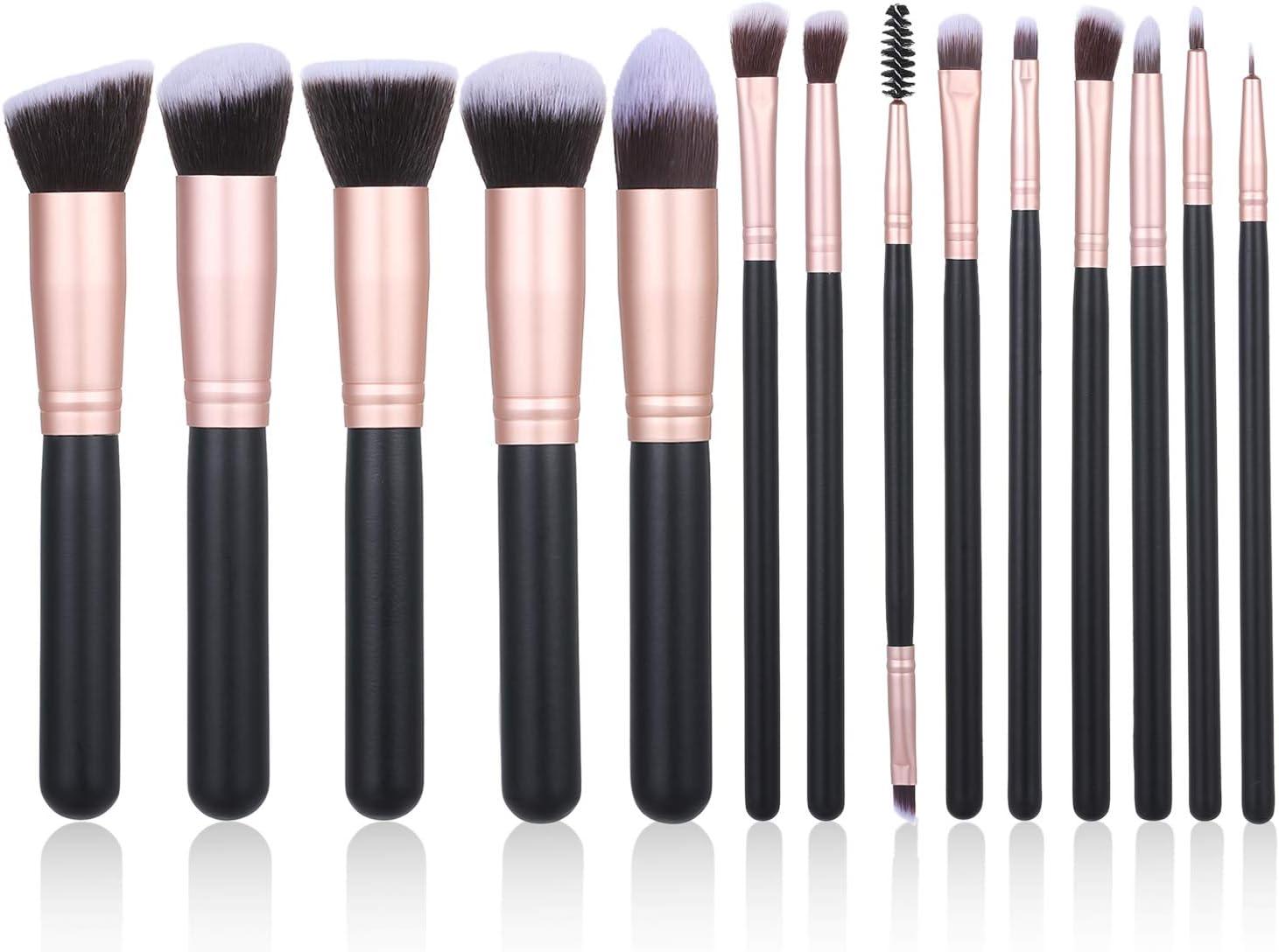 Kit de 14 brochas de maquillake Decdeal por sólo 7,99€ con el #código: 5SD6YHNM
