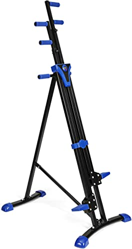 Flyerstoy Vertical Climber Cardio Exercise – Folding Exercise Climbing Machine,Total Body Workout Climber Machine for Home Gym, Exercise Bike for Home Body Trainer