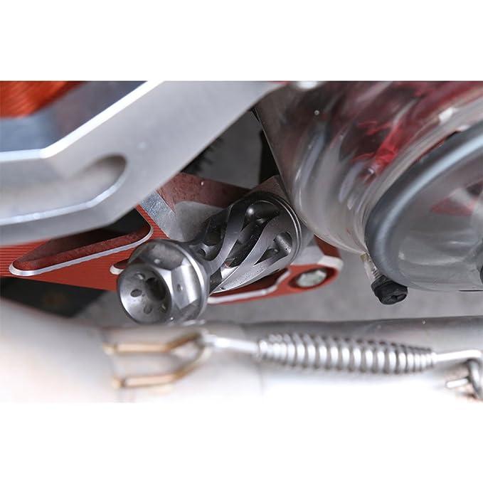 Amazon.com: Motocicleta Scooter aleación de aluminio varilla ...