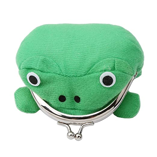 Naruto Anime Cosplay Plush Frog Coin Purse Change Pouch Wallet Small Money Bag, Plush Toy Funny