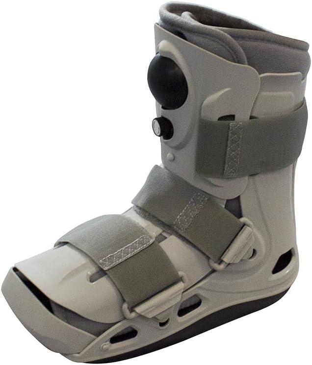 Physioroom - Soporte y protección para Tobillo y pie Rotos, lesionados y esguinces - Corto Air Walker, rehabilitación correctiva y recuperación rápida