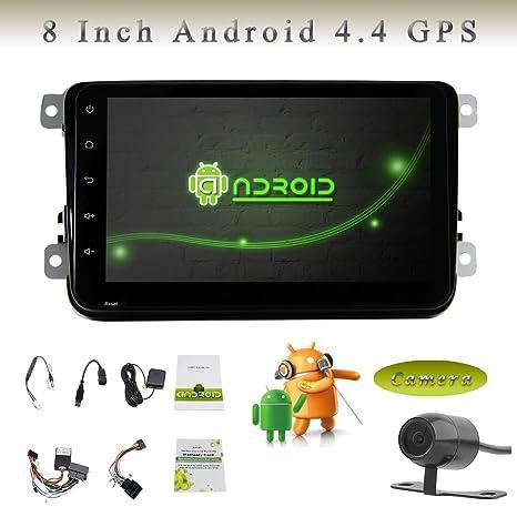 Quad Core Android 4.4 para Volkswagen VW 2din GPS del coche ...