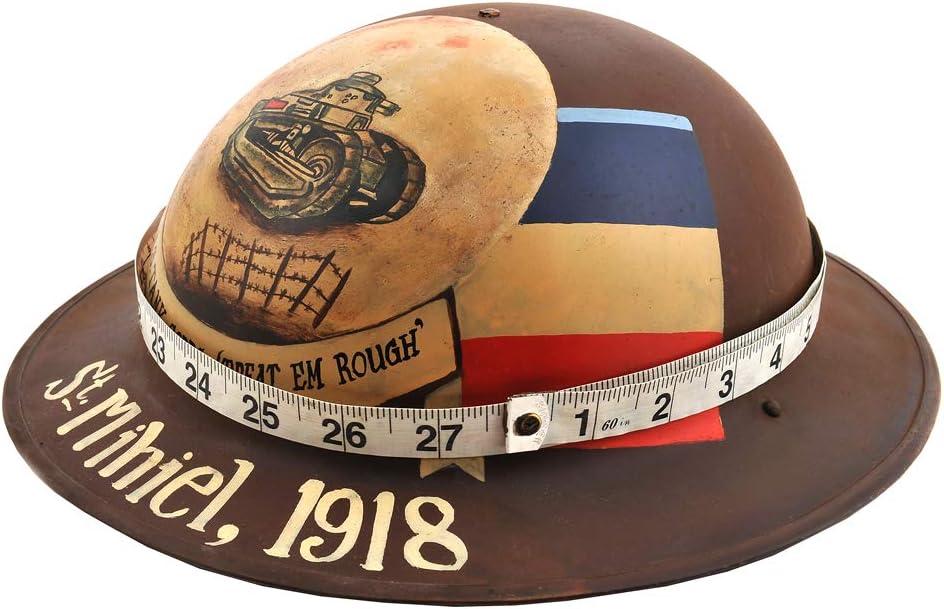 US M1917 Brodie Helmet Doughboy Helmet Custom Painted Tank Corps 1918