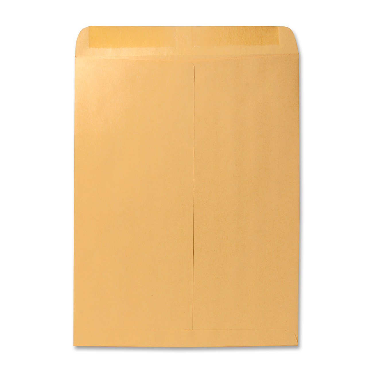 Quality Park 41967 Quality Park Catalog Envelopes,Hvyweight/Gummed,12x15-1/2, 28lb, Kraft,100/Box