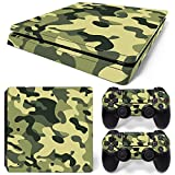 MODFREAKZ™ Console and Controller Vinyl Skin Set - Light Woodland Camo for PS4 Slim