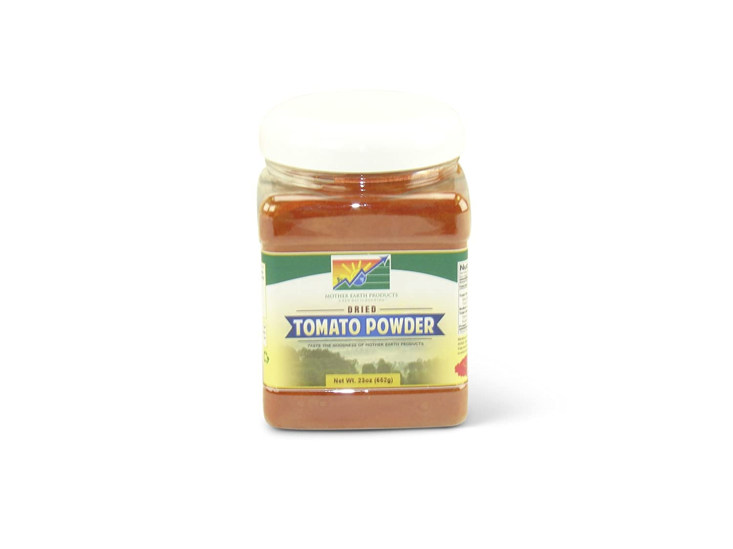 Mother Earth Products Dried Tomato Powder, Quart Jar: Amazon.com ...
