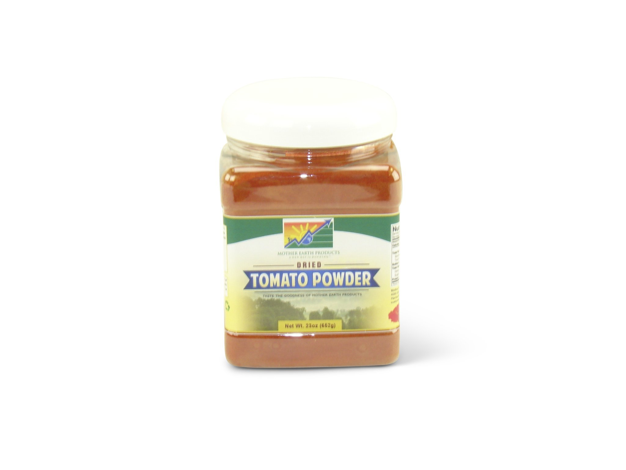 Mother Earth Products Dried Tomato Powder, Quart Jar