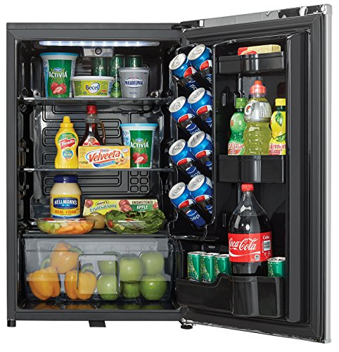 Danby DAR044A6DDB 4.4 cu.ft. Contemporary Classic Compact All Refrigerator, Iridium Silver Steel by Danby (Image #2)