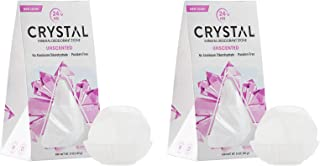 product image for CRYSTAL Deodorant Body Rock (Pack of 2) with Potassium Alum (a Natural Mineral Salt), Contains No Harmful Chemicals, Lasts up to 1 Year with Suggested Use, 5 oz