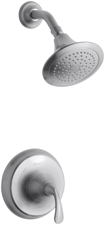 kohler kt102764bn forte ritetemp shower faucet trim vibrant brushed nickel one size faucet trim kits amazoncom