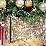 Wooden Tree Collar Box - Christmas Tree Farmhouse