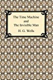Front cover for the book The Time Machine / The Invisible Man by H. G. Wells