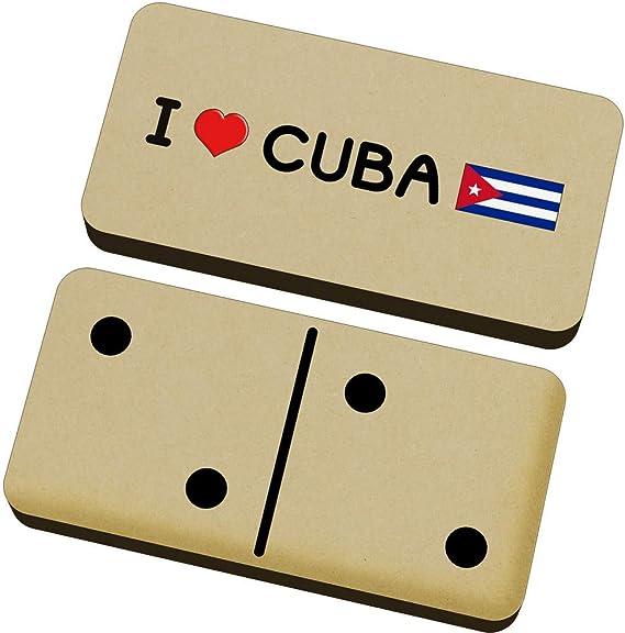 Stamp Press I Love Cuba Domino Juego y Caja (DM00000122): Amazon.es: Juguetes y juegos