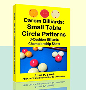 Carom Billiards: Small Table  Circle Patterns: 3-Cushion Billiards Championship Shots