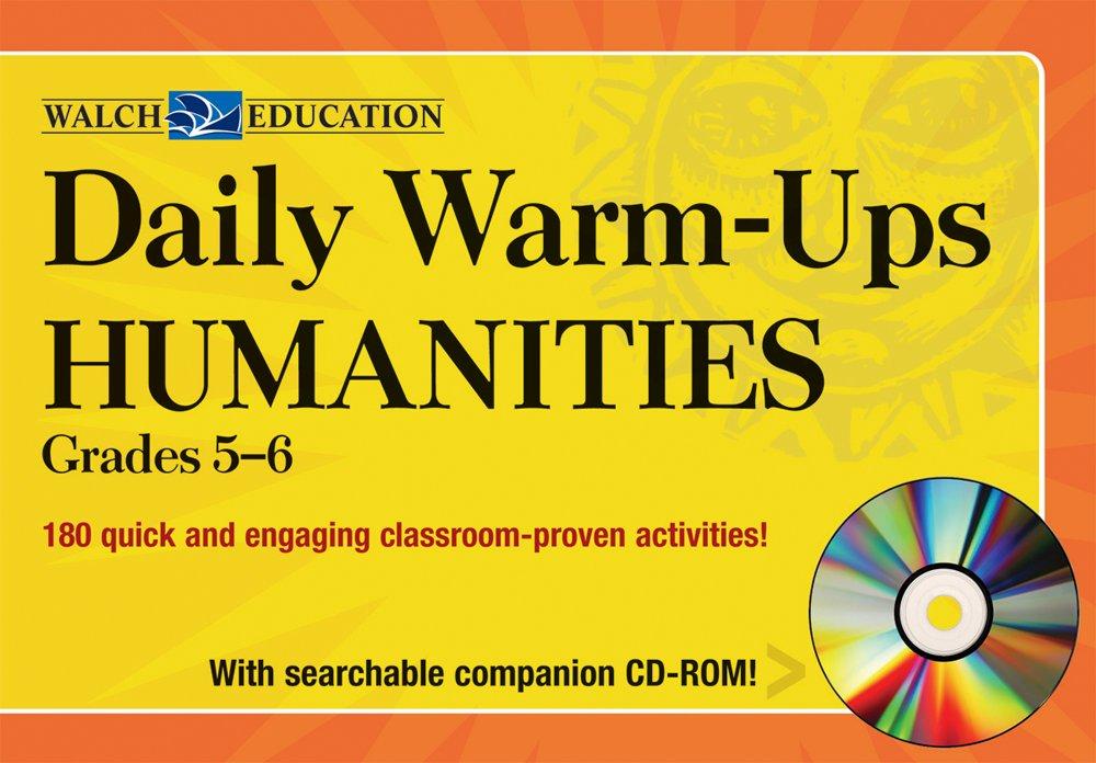 Amazon com: Daily Warm-Ups: Humanities Level 1