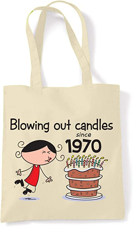 50th Birthday Made in 1969 Shopping Tote Bag