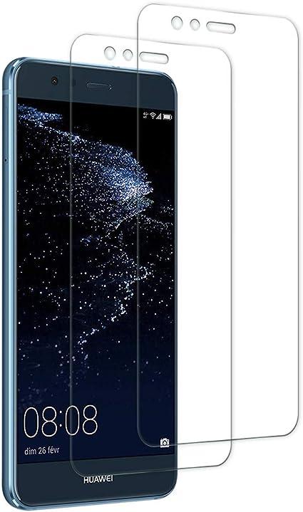JeoPoom Protector de Pantalla para Huawei P10 Lite, Transparente ...
