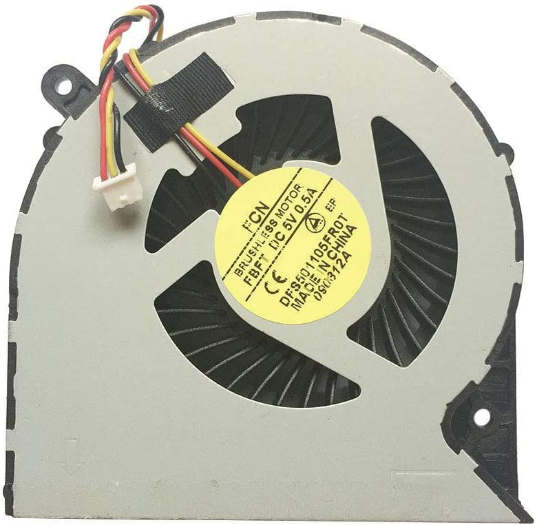 PYDDIN Laptop CPU Cooling Fan Cooler for Toshiba Satellite C850 C855 C870 C875 L850 L870 L870D L875 L875D Series (3 pins)